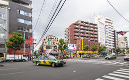 Kabukicho Bezirk in Tokyo, Japan Lizenzfreie Stockbilder