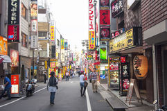 Kabukicho district in Tokyo,Japan Royalty Free Stock Images