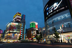 Kabukicho em Shinjuku do leste, Tóquio, Japão Foto de Stock Royalty Free