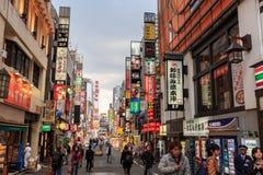 Kabukicho shinjuku, tokyo Fotografering för Bildbyråer