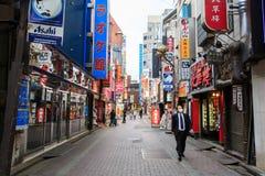 Kabukicho, shinjuku, Tokyo Fotografie Stock Libere da Diritti