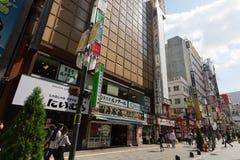 Kabukicho in Shinjuku, Tokyo, Japan. Kabukicho in Tokyo, Japan. Shinjuku. It is a major commercial and entertainment district in Tokyo royalty free stock photos