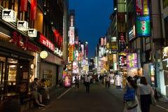 Kabukicho-Straße Lizenzfreies Stockbild