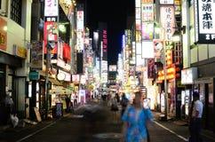 Kabukicho a Tokyo, Giappone Immagini Stock Libere da Diritti