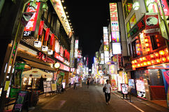 Kabukicho in Tokyo, Japan. Kabukicho is an historic entertainment and red light district in Tokyo, Japan, beaming with with neon signs Royalty Free Stock Photo