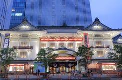 Kabukiza theatre architecture Tokyo Japan Stock Photo