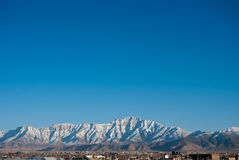 Kabul. Snowcapped mountains of Kabul Afghanistan Royalty Free Stock Photography