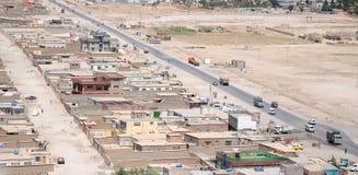 Kabul - arial Ansicht Stockfotos