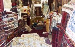 kabul dywanowy sklep Obraz Royalty Free