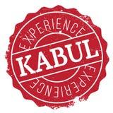 Kabul stamp rubber grunge Royalty Free Stock Photo