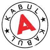 Kabul stamp rubber grunge Royalty Free Stock Image