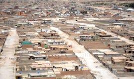 Kabul - visión aérea Foto de archivo
