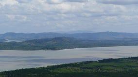 Kaburi river was border between Thailand and Myanmar. stock footage