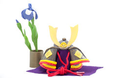 Kabuto. A Japanese holiday symbol called Kabuto Royalty Free Stock Photos