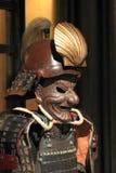 Samurai armor. Kabuto and mempo Stock Photo