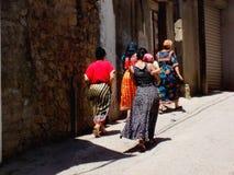 Kabyle di Femme Immagine Stock Libera da Diritti