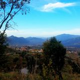 Kabylia landskap Royaltyfri Fotografi