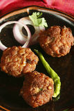 Kacche Kebab - a dish from Hyderabad Stock Photography