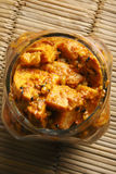 Kachalu Pickle - A popular spicy Indian Pickle Royalty Free Stock Photos