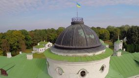 Kachanovka palace and park ensemble stock video footage