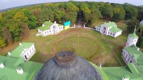Kachanovka palace and park ensemble stock video
