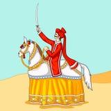 Kachhi Ghodi Dance, India Folk Dance Stock Image