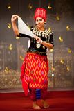 Kachin Folk Dance Royalty Free Stock Photography