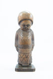 Kachin wood doll Stock Photography