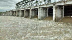 Kachnaunda水坝 库存照片