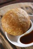 Kachori -一顿辣印地安快餐 库存图片
