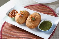 Kachori, Fried puff pastry royalty free stock photography