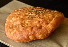 Kachori. Indian fried street food - kachori royalty free stock image