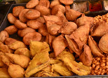 Kachori and Samosa Royalty Free Stock Photo