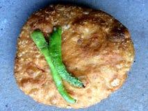Kachori snacks. Kachori spicy snacks Stock Photography