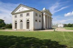 Kacina, palazzo storico di stile dell'impero nella regione di quintale della repubblica Ceca, della proprietà nazionale, della pi immagine stock