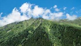 Kackar山在黑海Karadeniz地区,土耳其 免版税库存图片