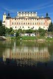 Kacov chateau Arkivfoto