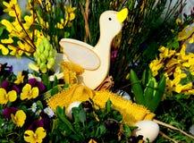 kaczątko Easter szczęśliwy zdjęcia royalty free