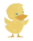 Kaczątko kaczka, dziecko kaczka Obraz Stock