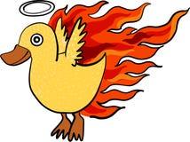 Kaczka pożarniczy wektor Fotografia Royalty Free