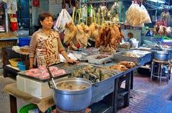 Kaczka sklep w Chinatown Bangkok Zdjęcia Royalty Free