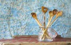 kaczki formularzowi kuchenni ładni poparcia naczynia Obraz Stock
