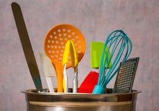 kaczki formularzowi kuchenni ładni poparcia naczynia Obrazy Royalty Free