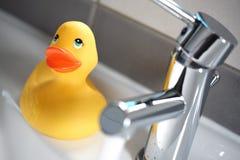 kaczki kąpielowa guma Obrazy Royalty Free
