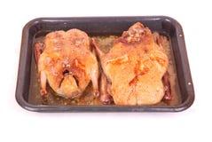 kaczki piec na grillu Zdjęcie Royalty Free