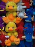 Kaczki przy jarmarkiem Fotografia Royalty Free