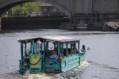 Kaczki wycieczki turysycznej Boston zapasu fotografia Obrazy Stock