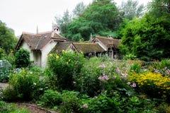Kaczki wyspy chałupa, St James park, Westminister, Londyn, Anglia, UK Zdjęcia Royalty Free