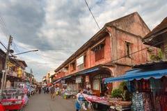 Kad Kong Ta Street Market ,Lampang, Thailand. Royalty Free Stock Images