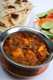 Kadai paneer curry Stock Photo